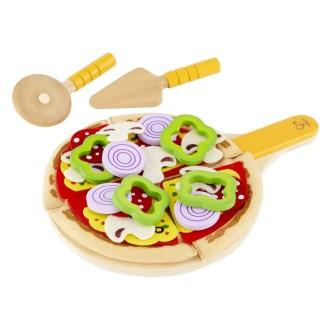 Hape Homemade Pizza play food set - E3129 | LeVida Toys