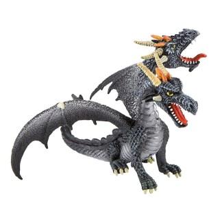 Dragon Double-Headed Black by Bullyland (Model: 75597)   LeVida Toys