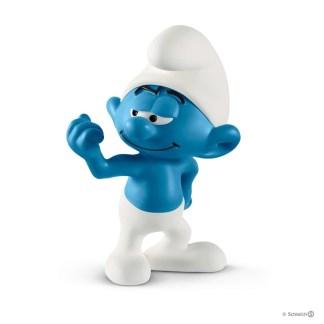 Schleich Hefty Smurf The Smurfs figure - Schleich 20811 | LeVida Toys