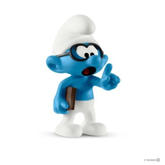 Schleich Brainy Smurf The Smurfs figure - Schleich 20812 | LeVida Toys