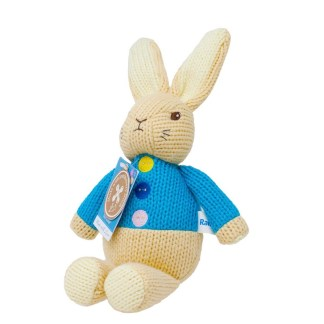 Peter Rabbit Made With Love Knitted Toy   LeVida Toys