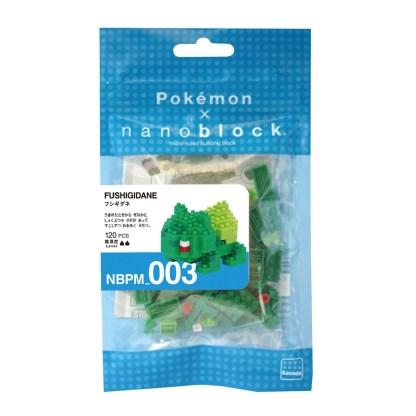 Pokemon Bulbasaur (Nanoblock NBPM-003)   LeVida Toys