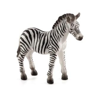 Zebra Foal figure (Animal Planet 387016)   LeVida Toys
