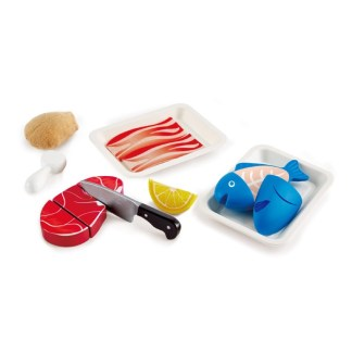 Tasty Proteins Play Food Set (Hape E3155) | LeVida Toys