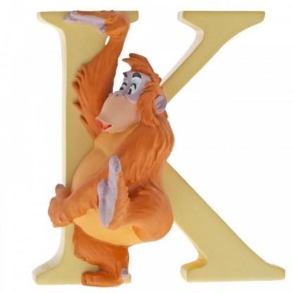 """K"" - King Louie - Disney Letter   LeVida Toys"