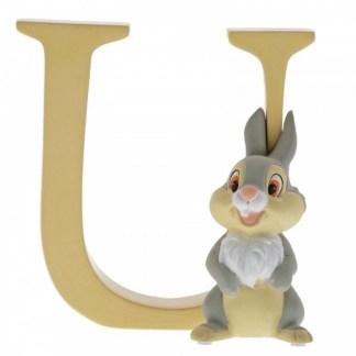 """U"" - Thumper - Disney Letter | LeVida Toys"