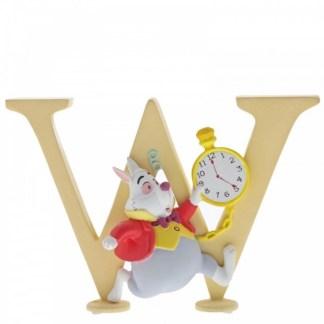 """W"" - White Rabbit - Disney Letter | LeVida Toys"