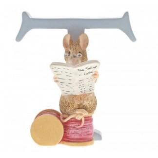 """T"" The Tailor of Gloucester - Peter Rabbit Letter | LeVida Toys"