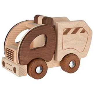 Goki Nature Garbage Truck   LeVida Toys