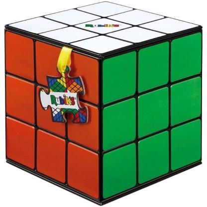 Rubik's Cube Puzzle in Shaped Tin (500 Pieces) | LeVida Toys