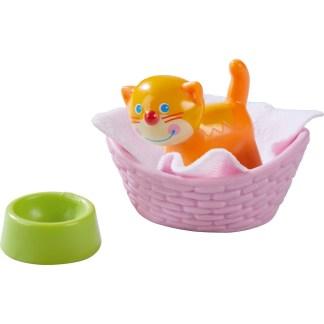Haba Little Friends - Cat Kiki and Basket | LeVida Toys