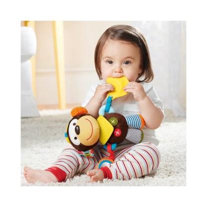 Skip Hop Bandana Buddies Activity Monkey | LeVida Toys