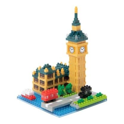 Nanoblock Sights to See - Big Ben (NBH-193) | LeVida Toys