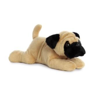 Aurora Flopsies: Pug-ger Pug 12 Inch Soft Toy | LeVida Toys