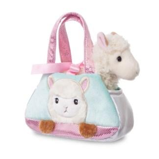 Fancy Pal: Peek-a-Boo Alpaca Toy Pet Carrier | LeVida Toys