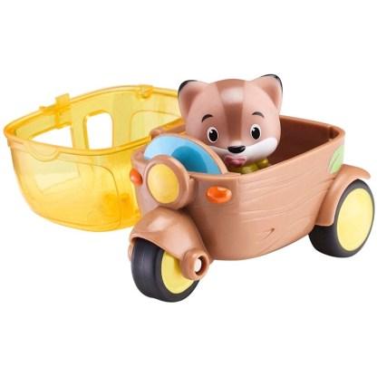 Timber Tots Side Car with Timber Tot figure   LeVida Toys