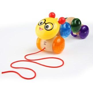 Hape Baby Einstein Inch Along Cal Pull Along Toy | LeVida Toys