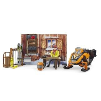 Bruder bWorld Mountain Hut (63102) | LeVida Toys