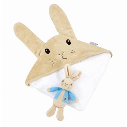 Peter Rabbit Soft Toy & Cuddle Robe Gift Set | LeVida Toys