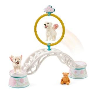 Winged Baby Lion Training (Schleich 42524) Bayala Playset | LeVida Toys