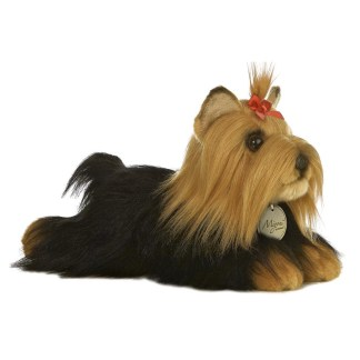 MiYoni Yorkshire Terrier Dog with Brush - LeVida Toys