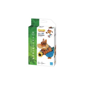 Nanoblock Crash Bandicoot: Dingodile - LeVida Toys