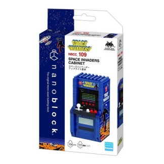 Nanoblock Mini Collection Space Invaders Arcade Cabinet - LeVida Toys