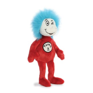 Dr Suess Thing 2 Soft Toy - LeVida Toys