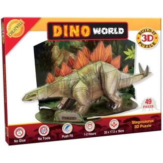 Build It 3D Puzzle: Stegosaurus - LeVida Toys