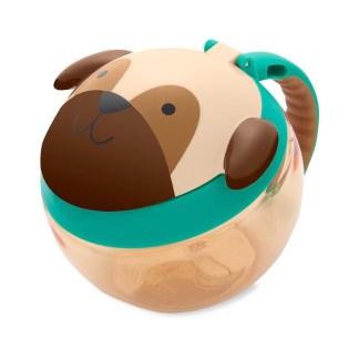 Skip Hop - Zoo Snack Cup - Pug - LeVida Toys