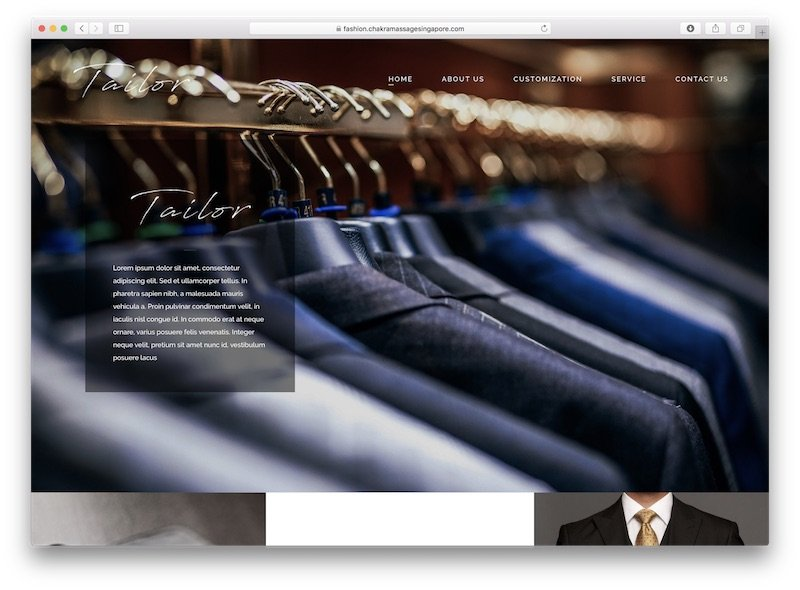 Tailoring Wordpress Template