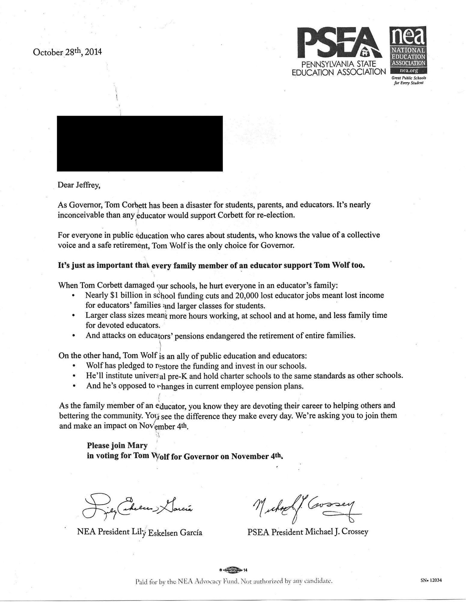 Teacher Files Complaint Against Unions Over Political