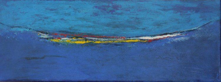 Zee van geluk 30X80 (verkocht)
