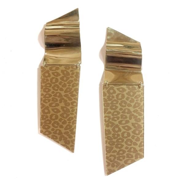 Pendientes Leopardo - Le Voilà