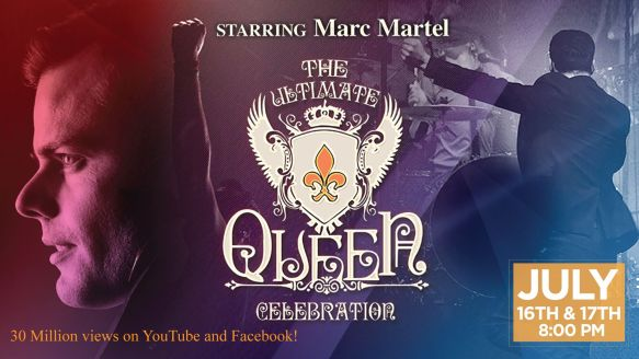 Marc Martel Ultimate Queen Celebration Tour