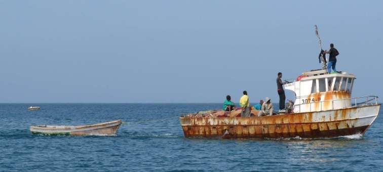Un autre bateau de pêche de Palmeira - SAL