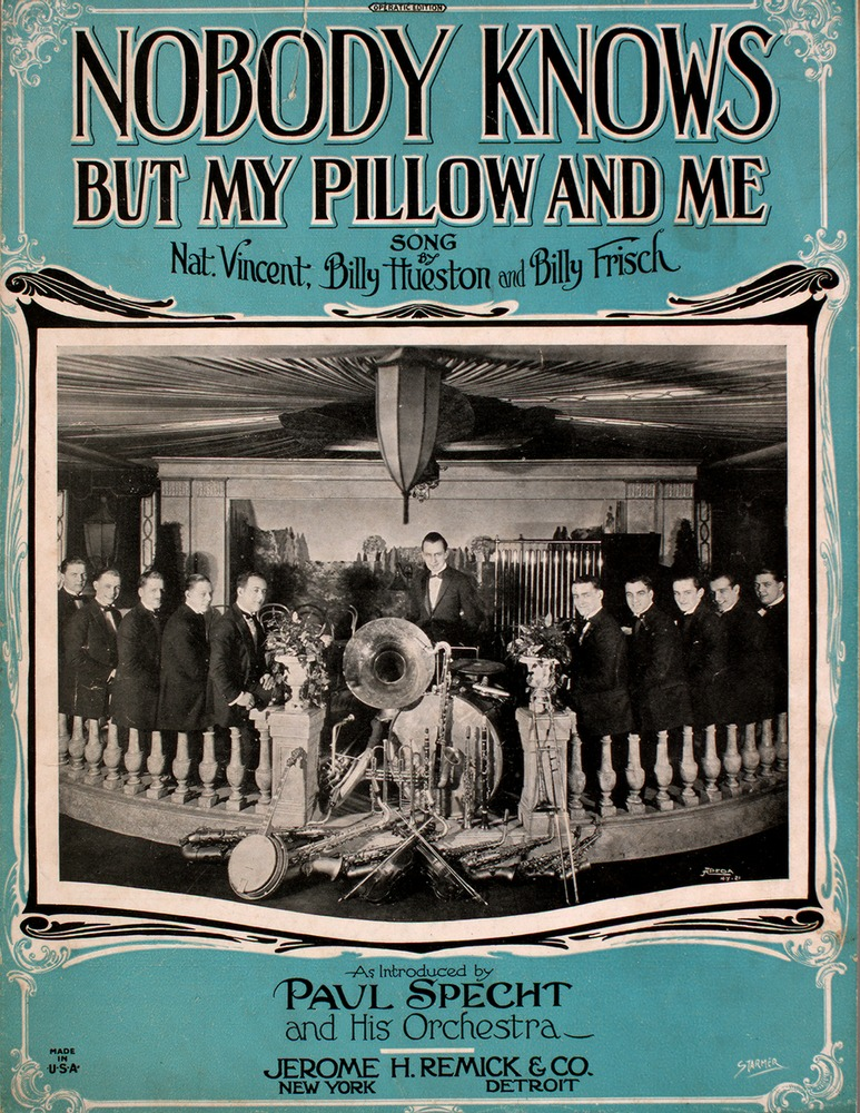 nobody knows but my pillow and me