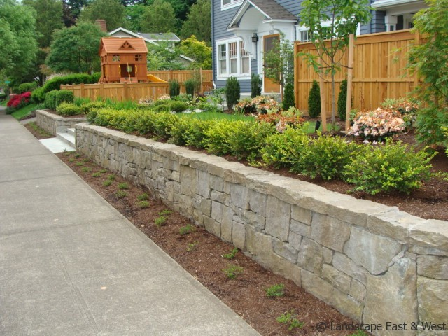 Retaining Wall Design For Portland Landscaping By Lee