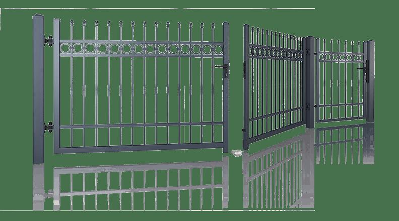 DOUBLE-LEAF GATES AND WICKETS   LEWANDOWSKI