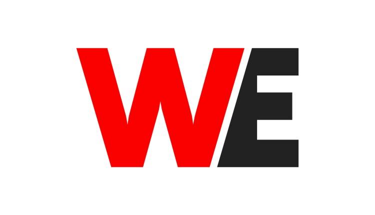 we initial logo design, intial logo design, letter logo design