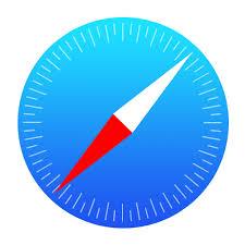 logo safari - applications mobile