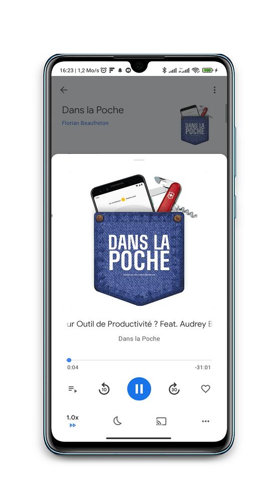 Dans la poche - Un podcast pour les maniaques de la productivité