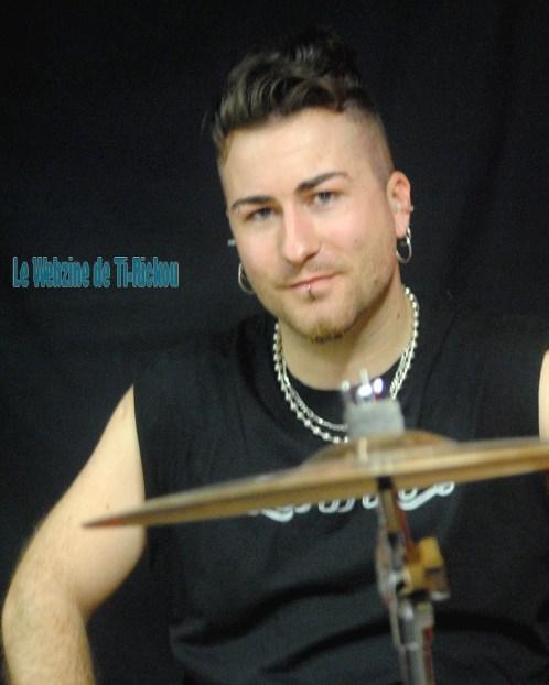 John, batteur de MESSALINE