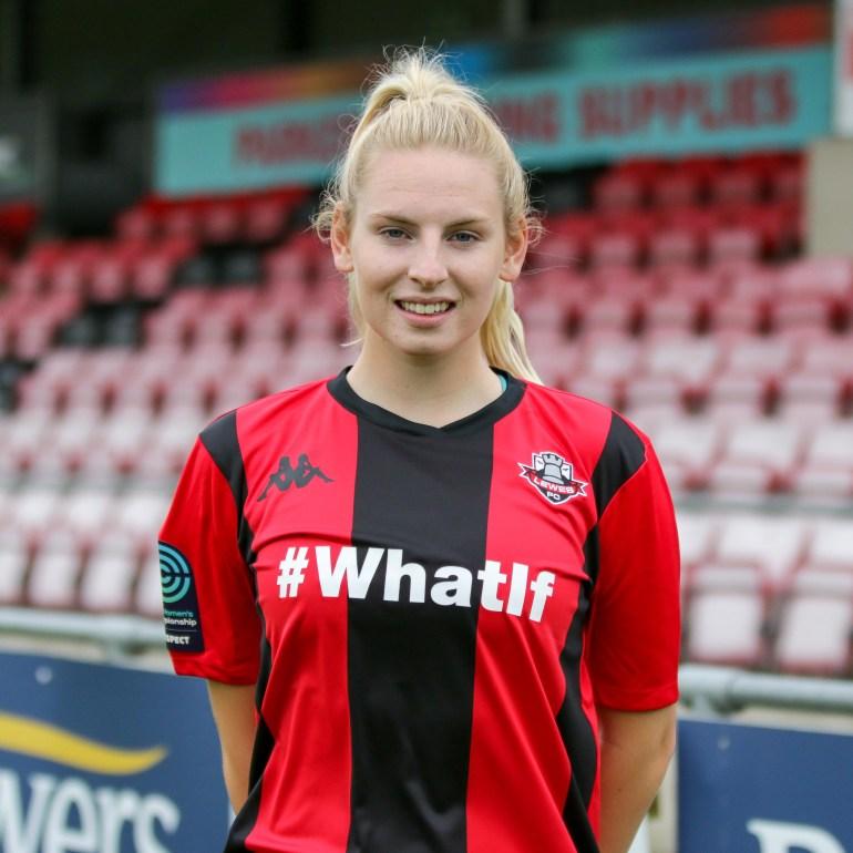 Kellie Larkin Lewes FC Women 2018 2019-17