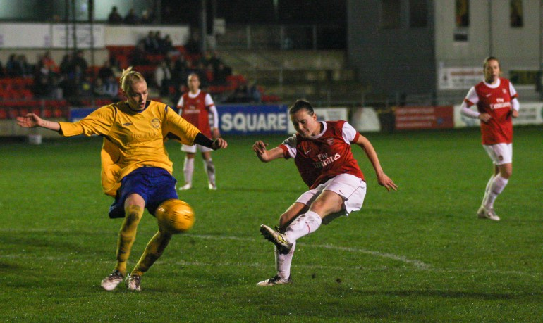 Sussex Ladies V Arsenal Ladies Nov 2010_0098-9