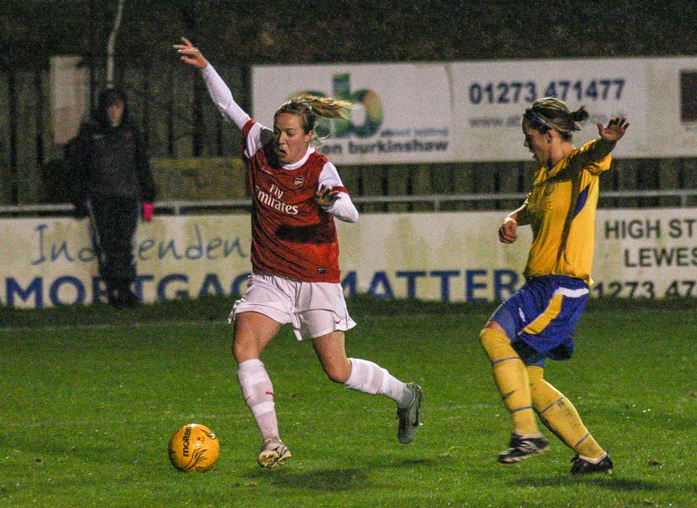 Sussex Ladies V Arsenal Ladies Nov 2010_0104-10