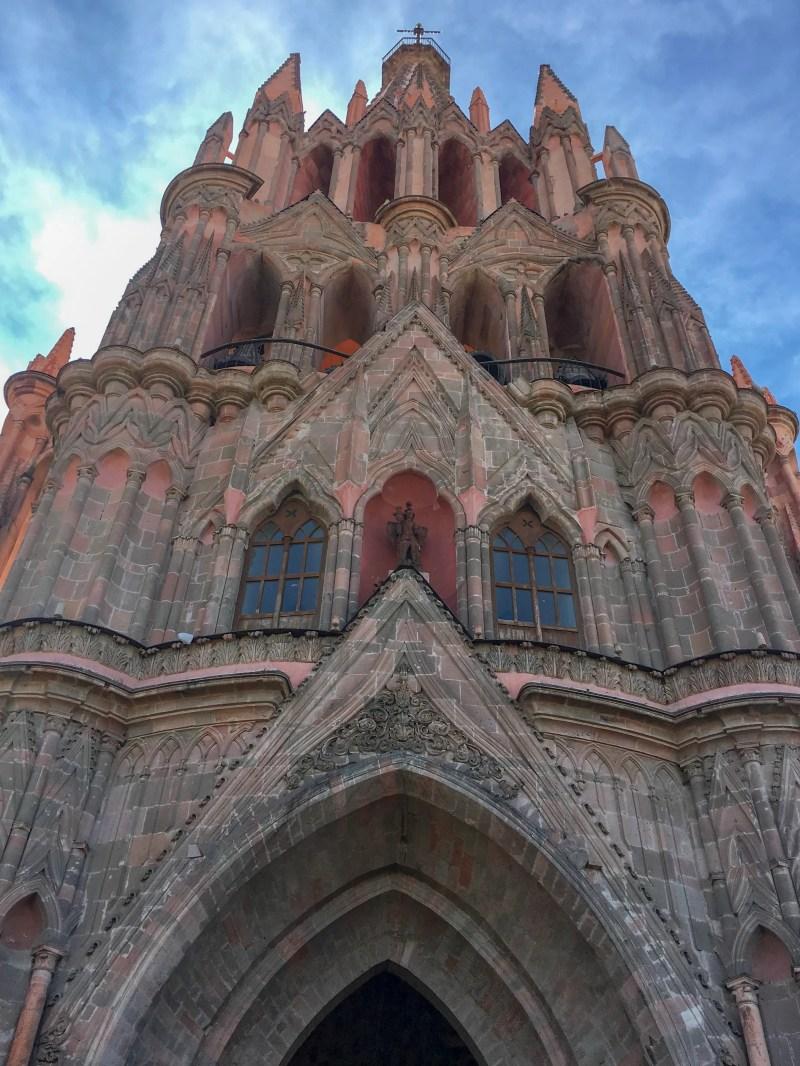 la parroquia church san miguel de allende mexico