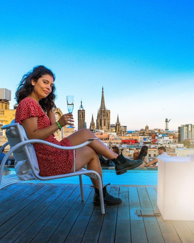 barcelona best rooftops