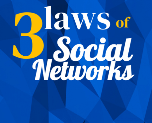 3 laws of Social Networks by Lewis & Carroll