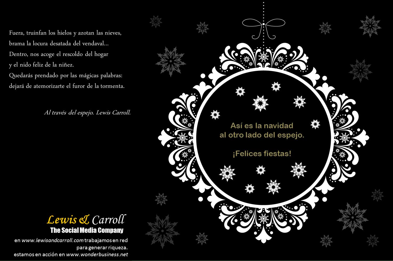 Navidad Lewis & Carroll 2014